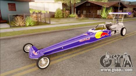 Dragster Red Bull for GTA San Andreas