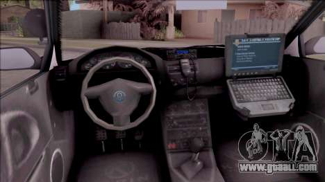 GTA V Annis Elegy Retro Interceptor for GTA San Andreas inner view