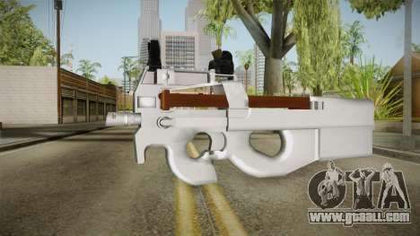 Chrome P90 for GTA San Andreas