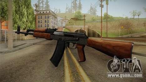 AKM Assault Rifle v2 for GTA San Andreas third screenshot