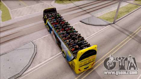 Scania Metalsur Starbus 2 Descapotable for GTA San Andreas back view