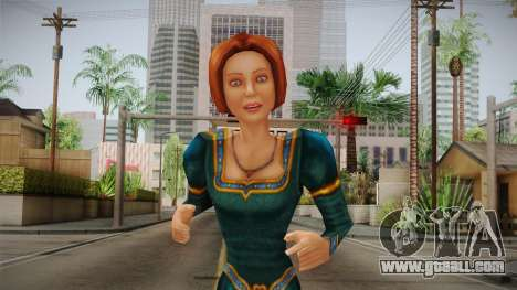 Princess Fiona for GTA San Andreas