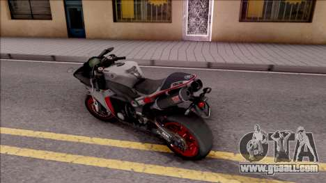 Yamaha YZF-R1 Stickers for GTA San Andreas left view