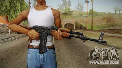 AKM Assault Rifle v2 for GTA San Andreas