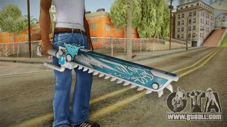 W40K: Deathwatch Chain Sword v5 for GTA San Andreas third screenshot