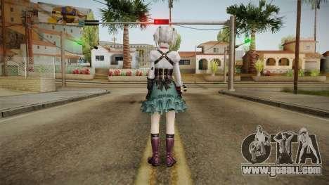 God Eater 2: Rage Burst - Ciel Alencon for GTA San Andreas third screenshot