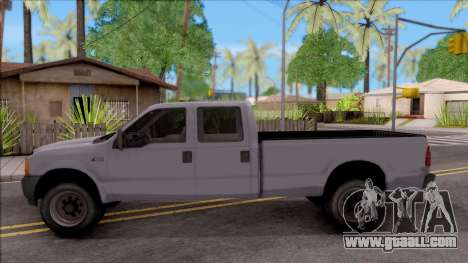 Ford F-250 for GTA San Andreas left view