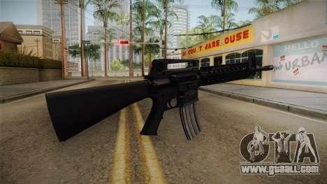 Battlefield 3 - M16 v2 for GTA San Andreas second screenshot