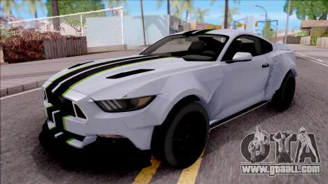Ford Mustang 2015 Need For Speed Payback Edition for GTA San Andreas
