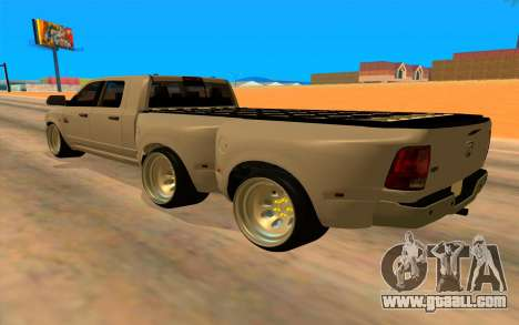 Dodge Ram 3500 for GTA San Andreas