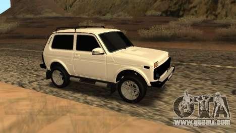 Lada Niva Urban Armenian for GTA San Andreas back view