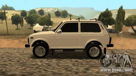 Lada Niva Urban Armenian for GTA San Andreas left view