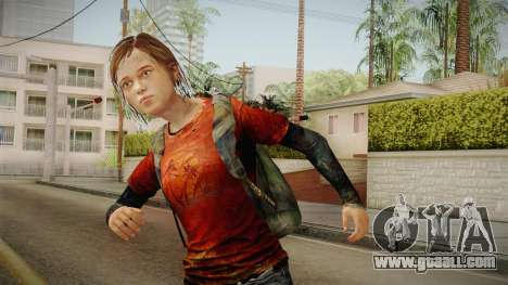 Ellie Tlou v1 for GTA San Andreas