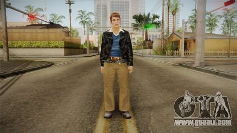 Johnny Vincent from Bully Scholarship for GTA San Andreas second screenshot