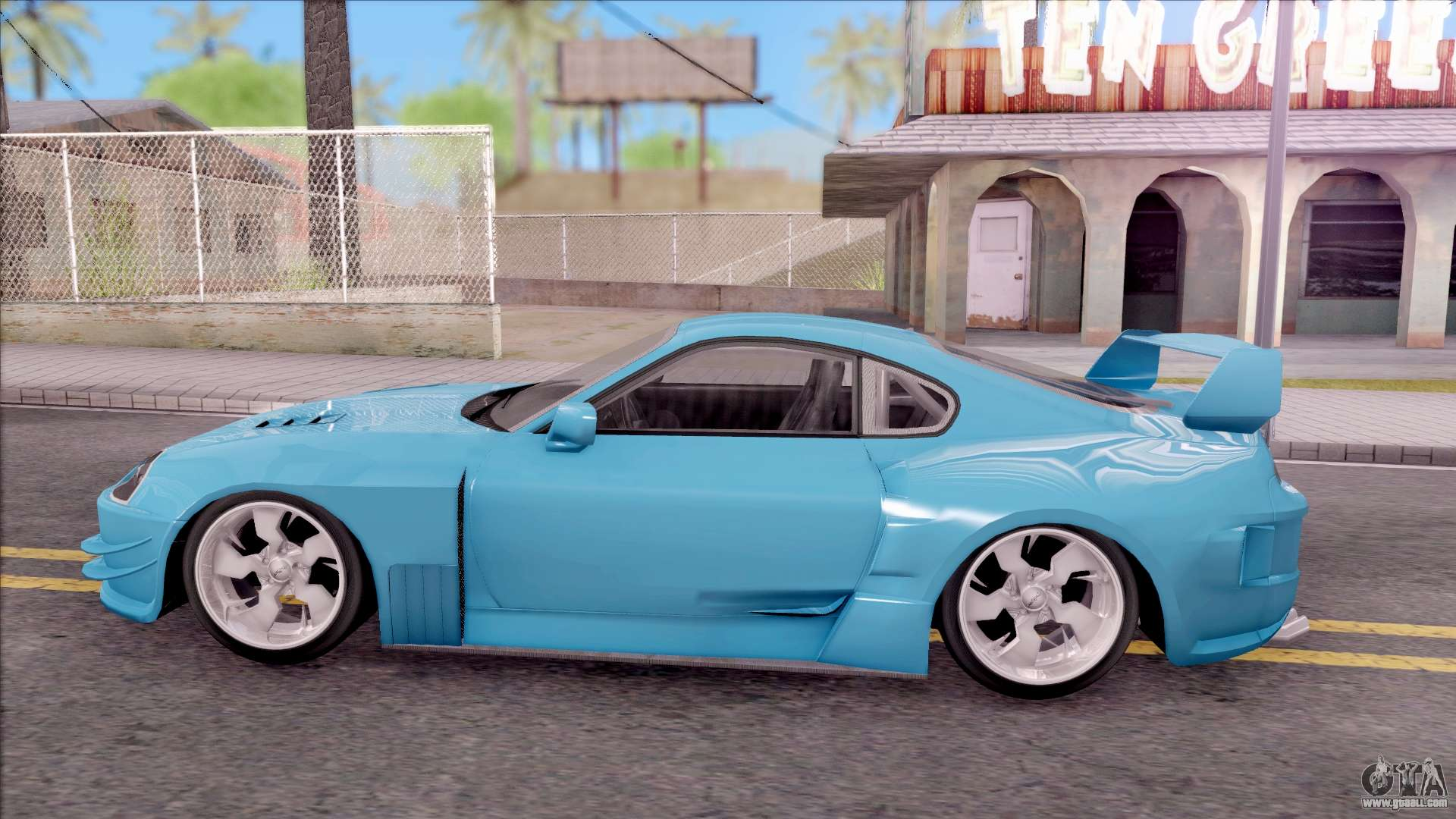 toyota supra mk4 nfsuc tuning for gta san andreas. Black Bedroom Furniture Sets. Home Design Ideas