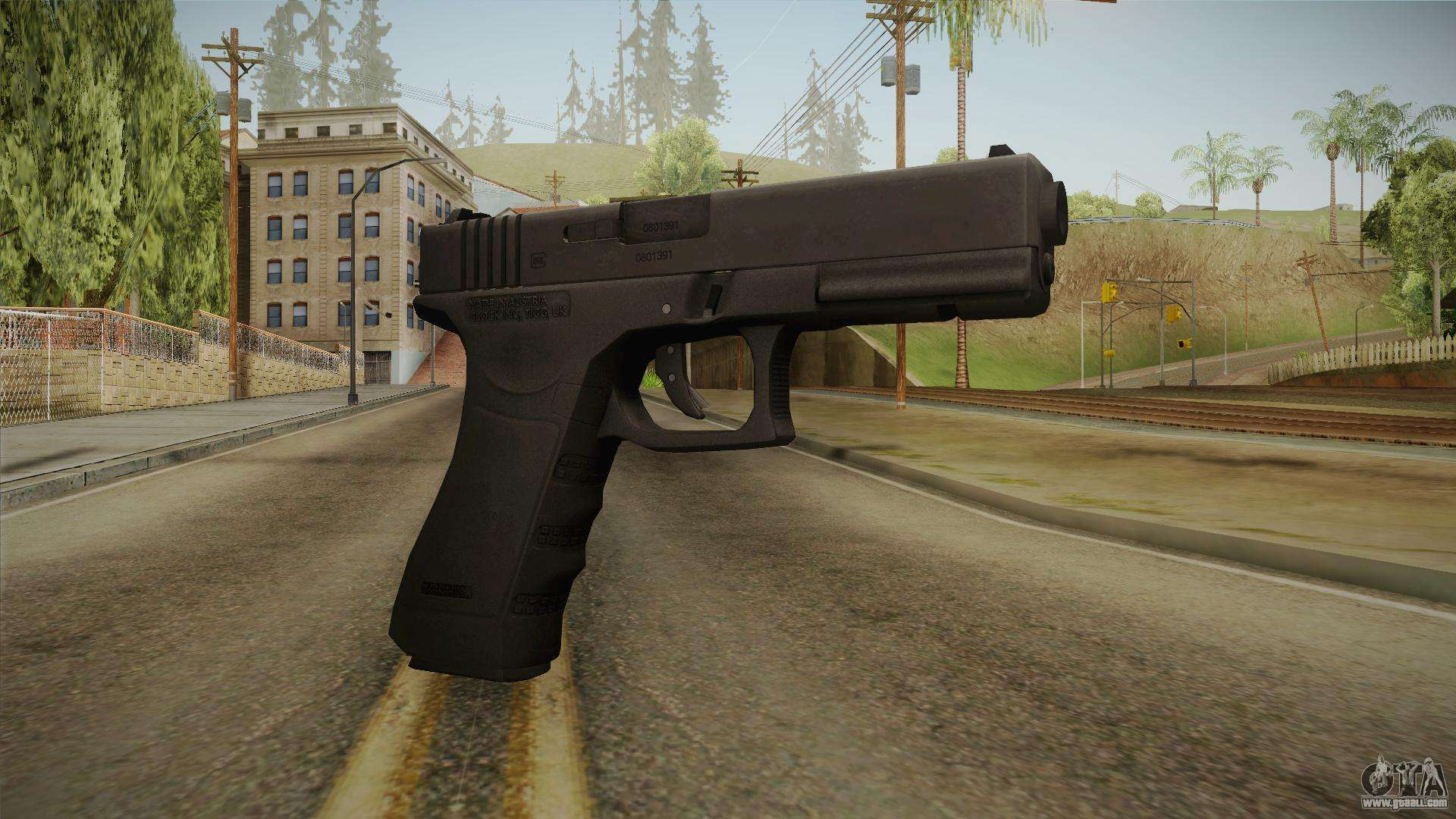 Molotov Cocktail Glock 17 for GTA San A...