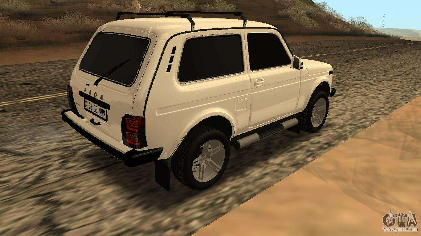 lada niva urban armenian for gta san andreas. Black Bedroom Furniture Sets. Home Design Ideas
