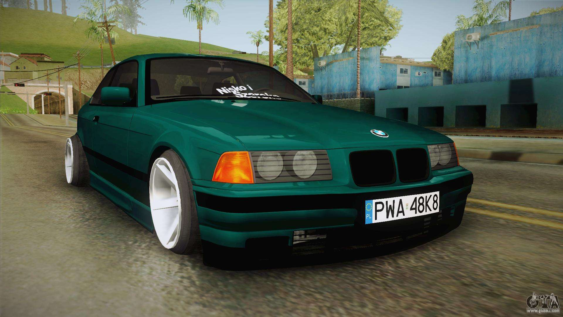 bmw m3 e36 coupe for gta san andreas. Black Bedroom Furniture Sets. Home Design Ideas