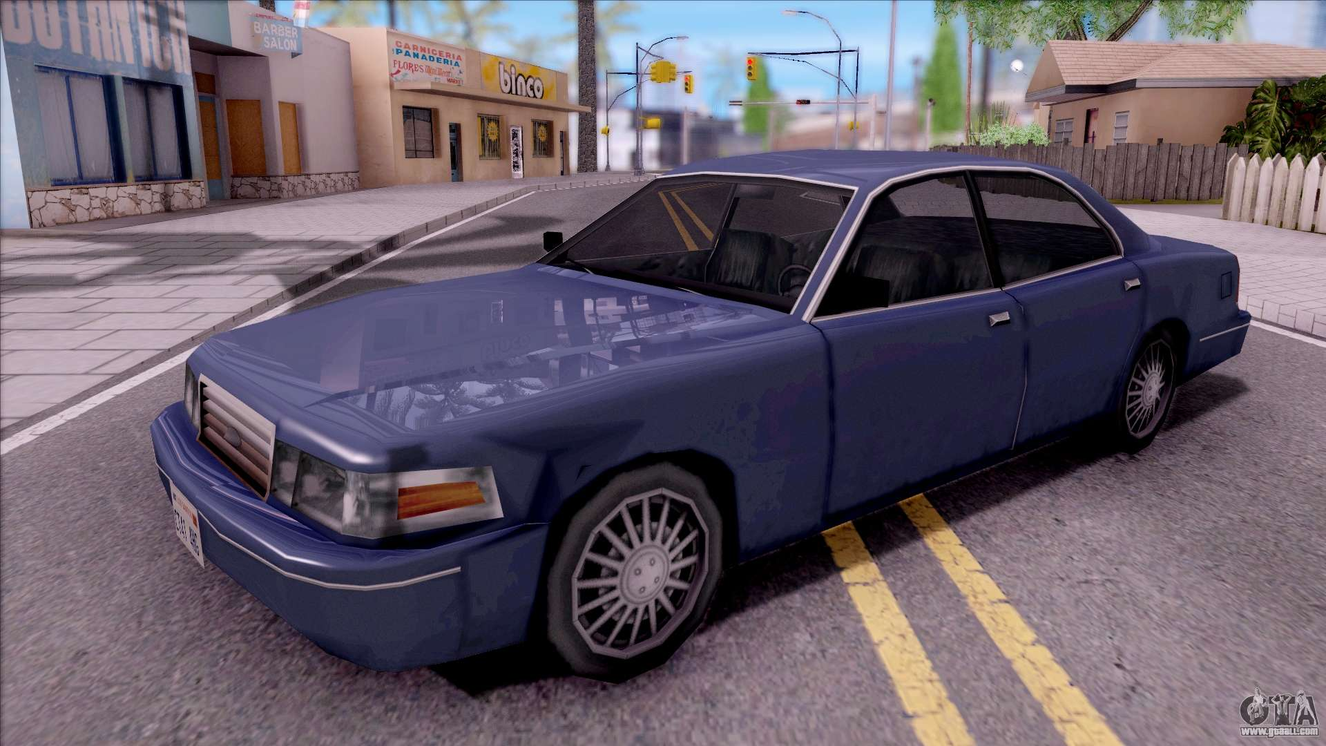 merit cv  u0026quot sa style ford crown victoria u0026quot  for gta san andreas