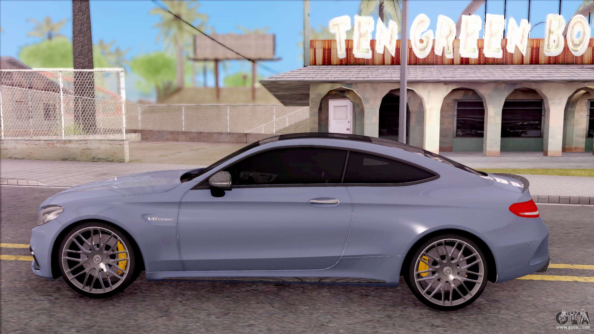 mercedes benz c63s amg coupe 2016 v2 for gta san andreas. Black Bedroom Furniture Sets. Home Design Ideas