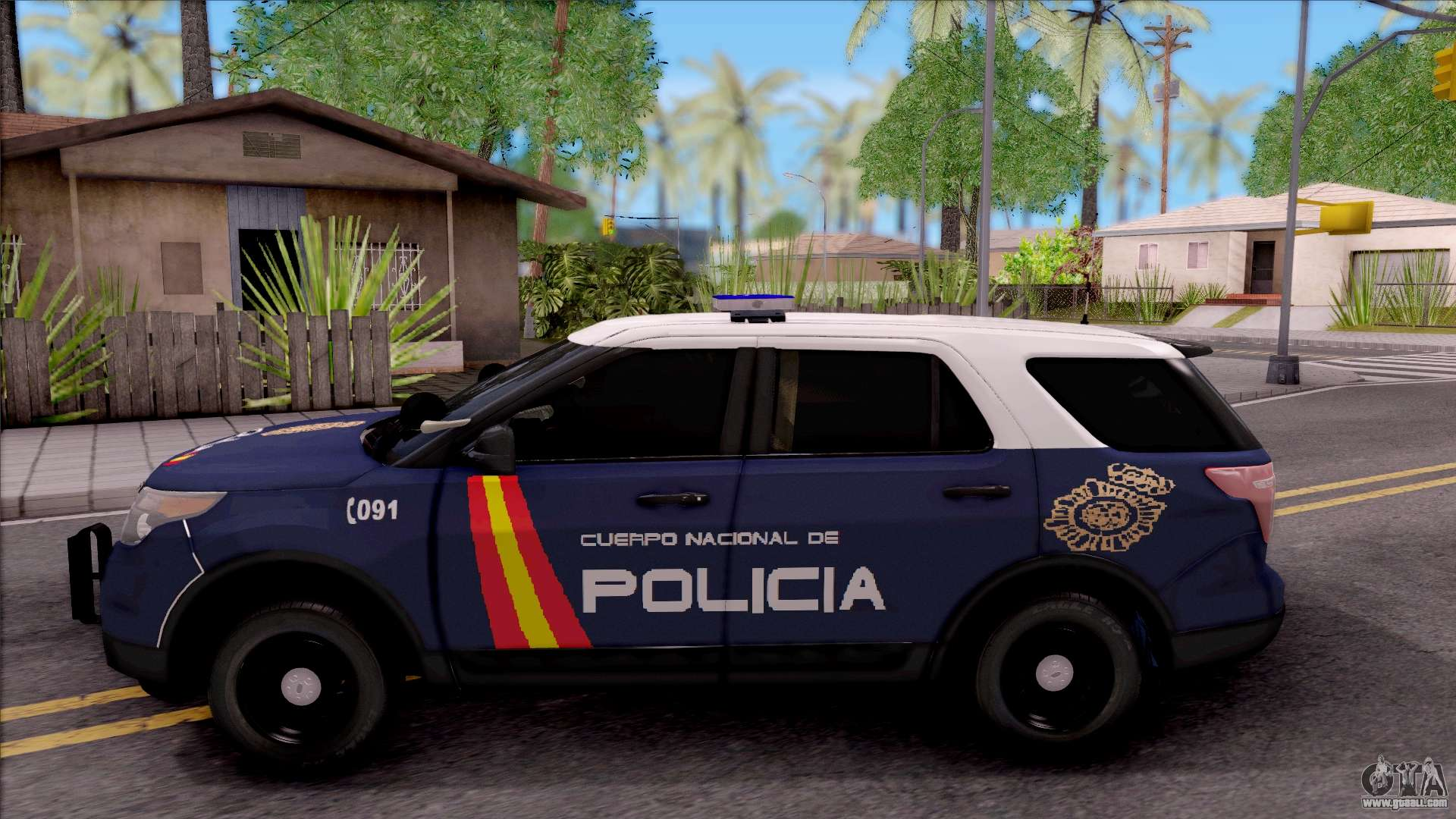 Ford Explorer Spanish Police for GTA San Andreas