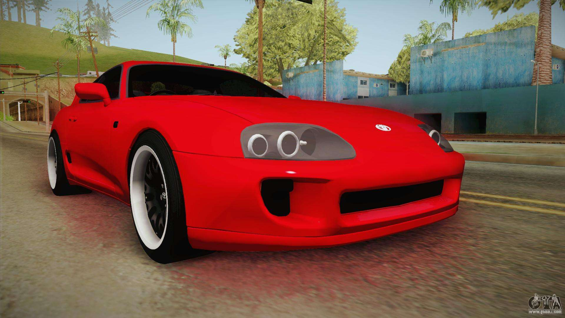 Toyota Supra For Gta San Andreas