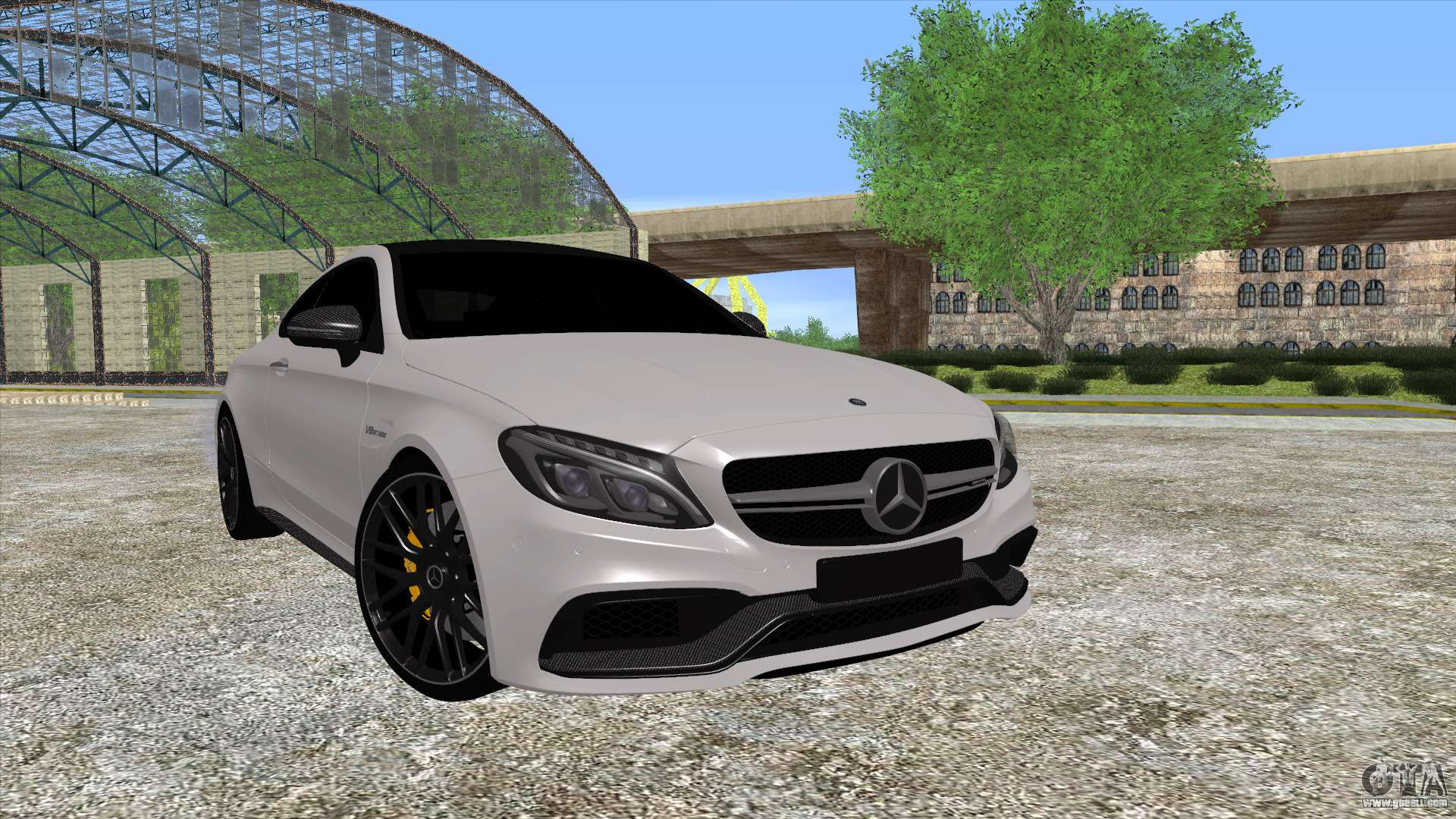 Mercedes benz c63 coupe for gta san andreas for Mercedes benz c63