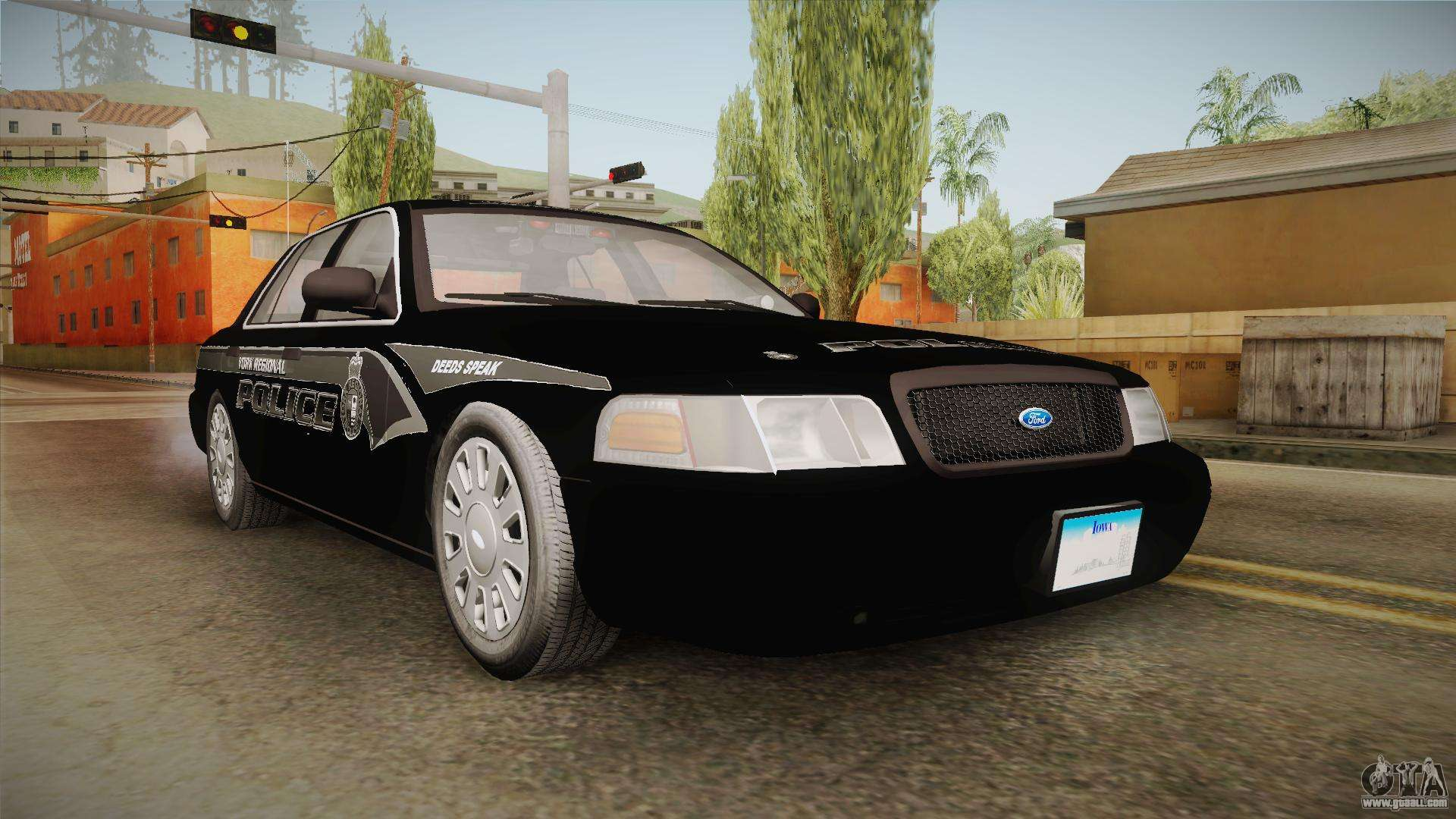 ford crown victoria pi stealth yrp for gta san andreas. Black Bedroom Furniture Sets. Home Design Ideas