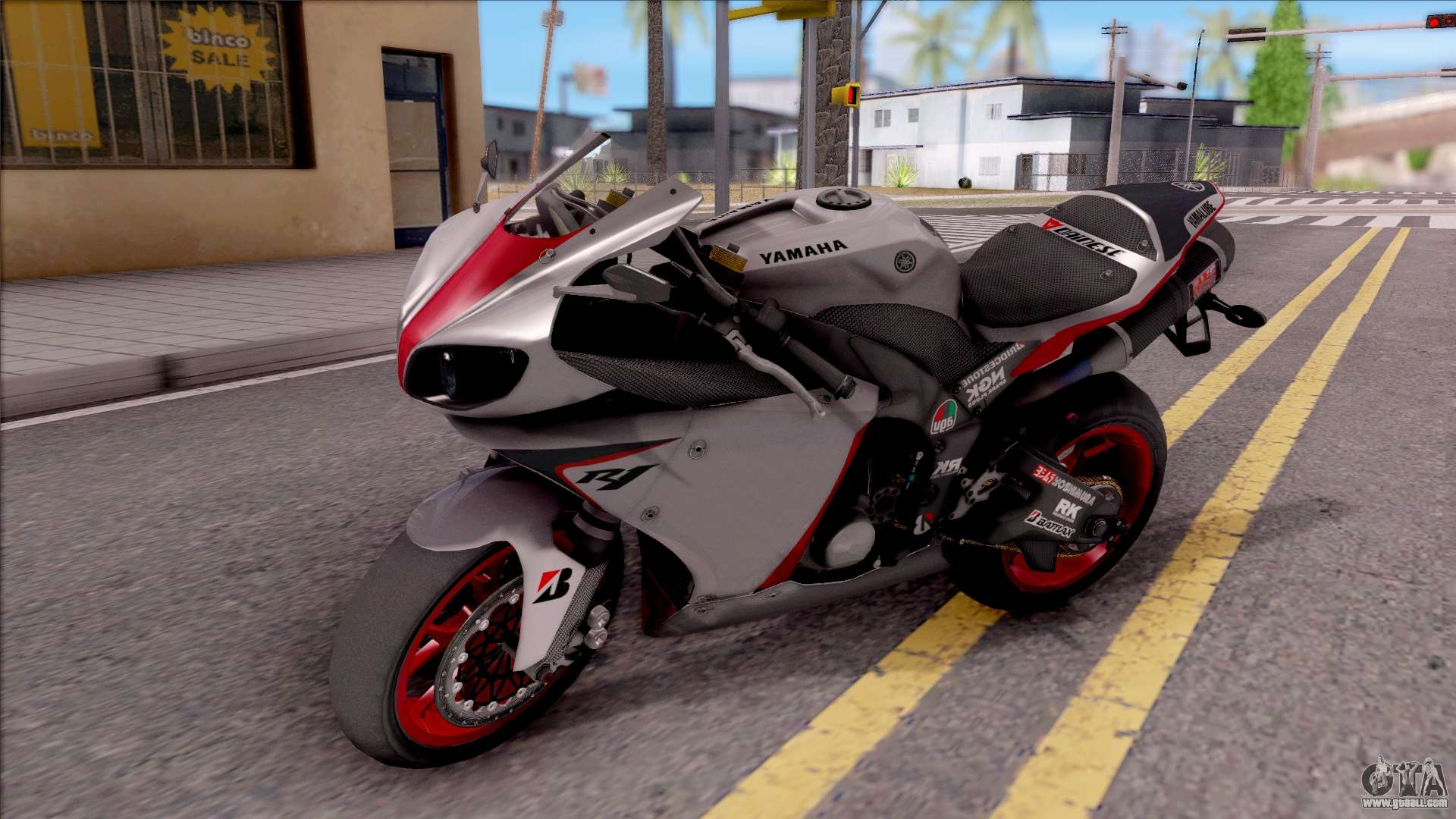 yamaha yzf r1 stickers for gta san andreas. Black Bedroom Furniture Sets. Home Design Ideas