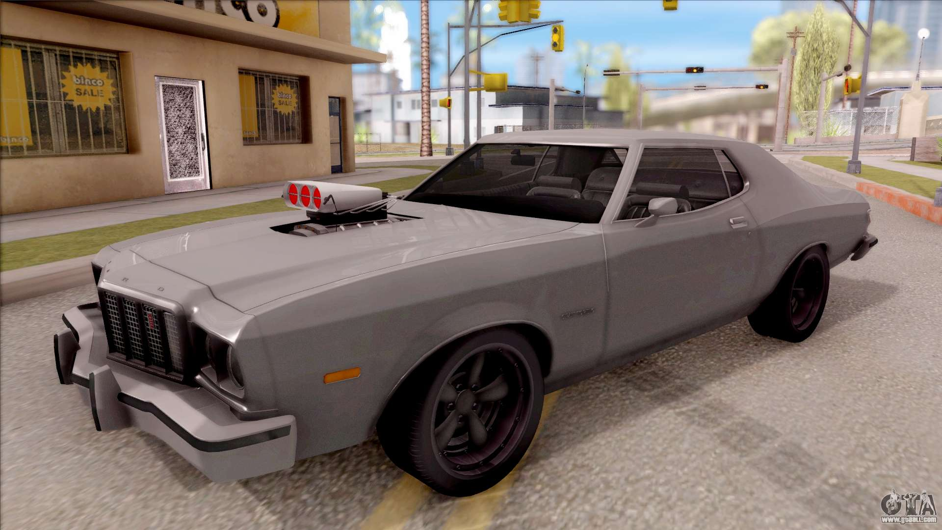 ford gran torino 1975 v2 for gta san andreas. Black Bedroom Furniture Sets. Home Design Ideas