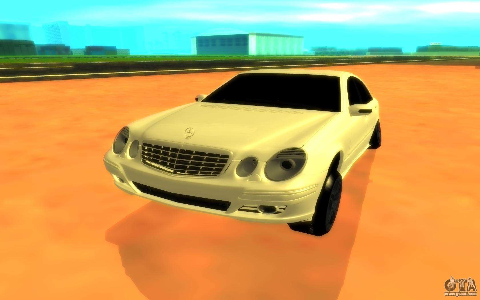 Mercedes benz e320 for gta san andreas for Mercedes benz e320