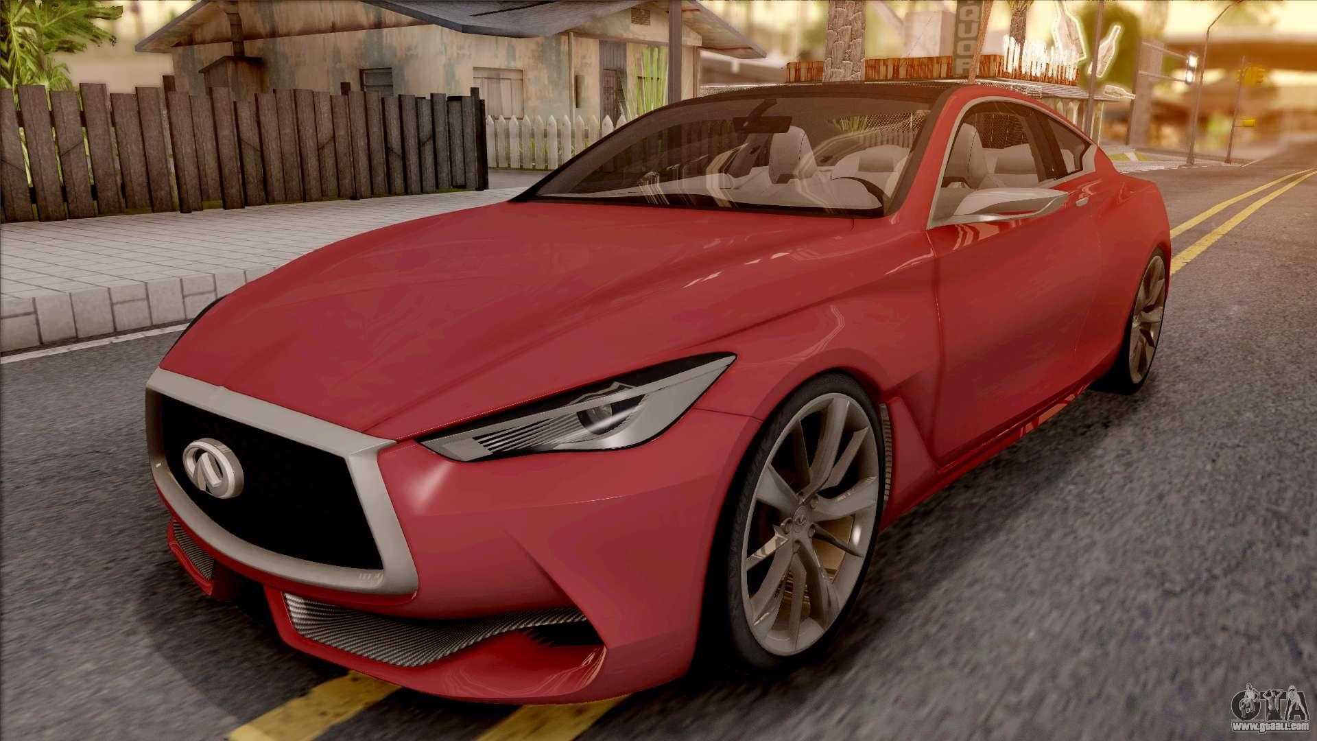 Infiniti Q60 for GTA San Andreas on
