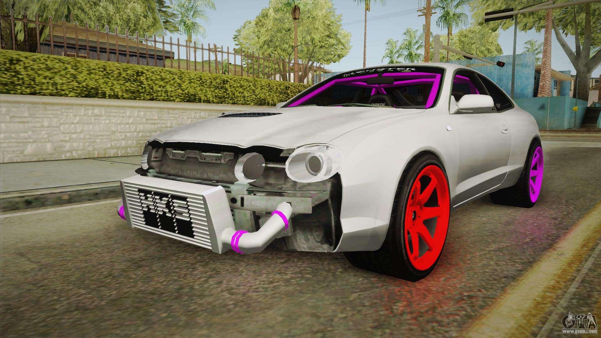 Toyota Celica Gt Drift Monster Energy For Gta San Andreas