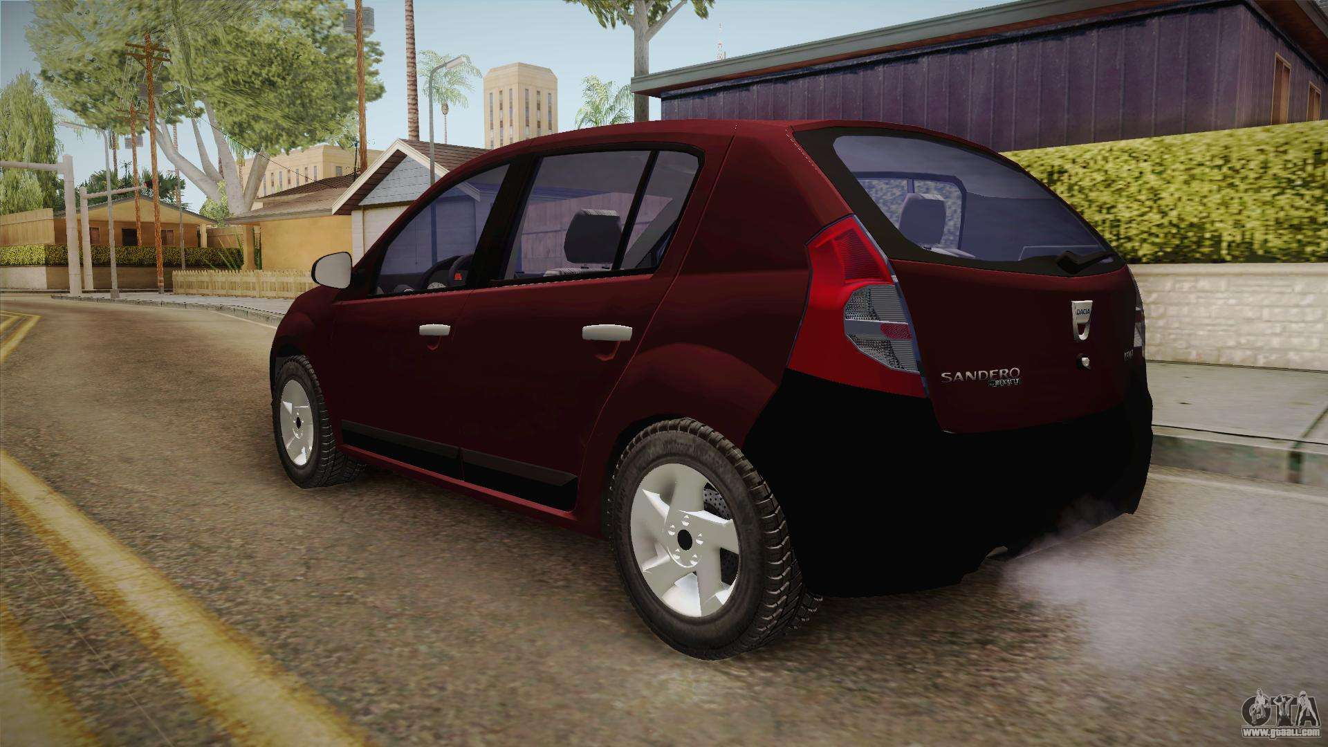 dacia sandero stepway 2011 for gta san andreas. Black Bedroom Furniture Sets. Home Design Ideas