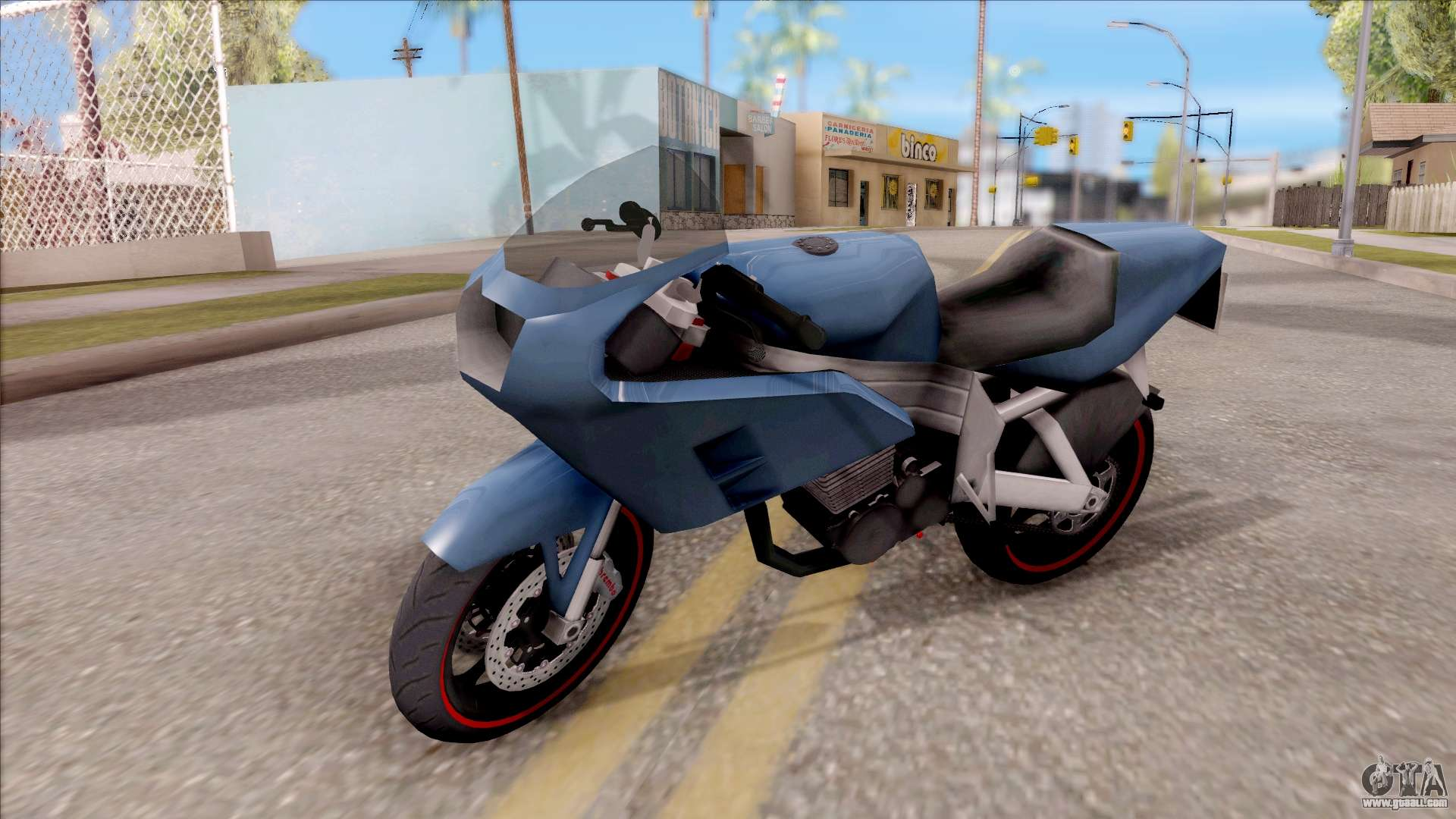 Gta Sa Fcr-900 motorcycle mods - GTA San Andreas
