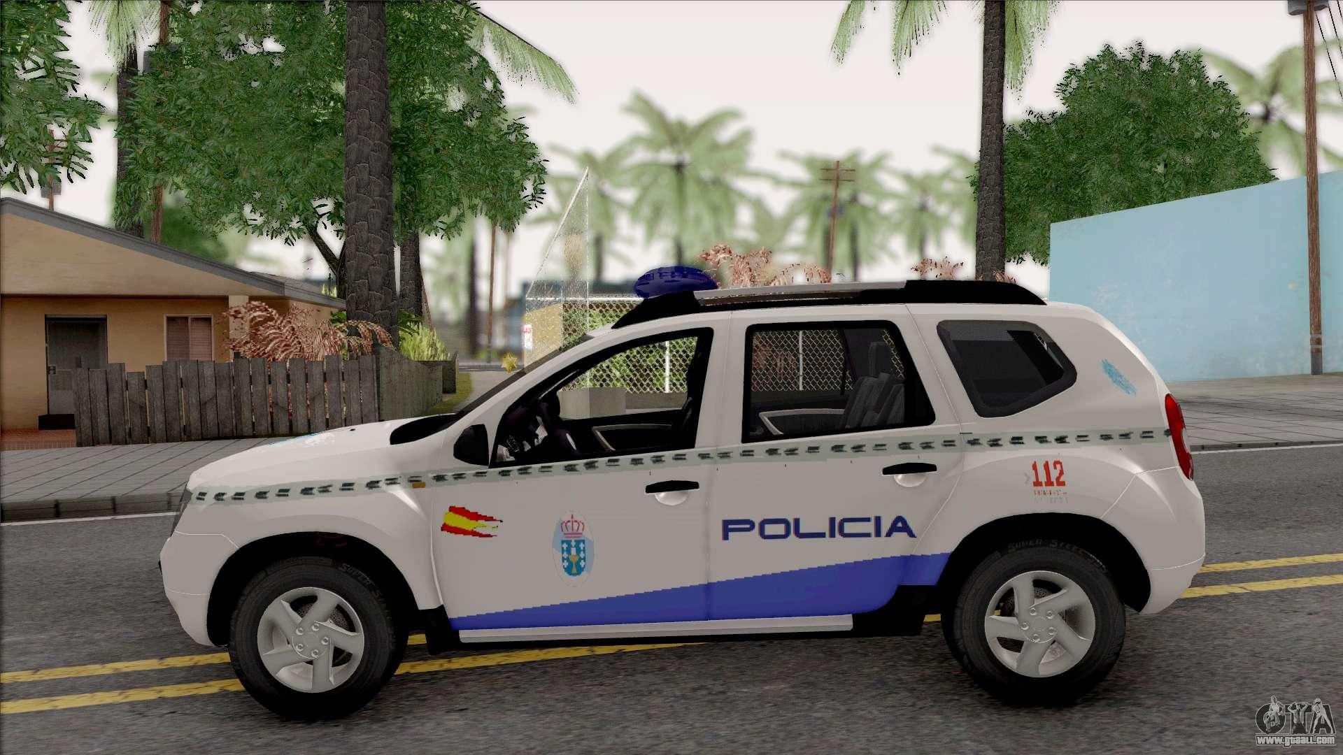 renault duster spanish police for gta san andreas. Black Bedroom Furniture Sets. Home Design Ideas