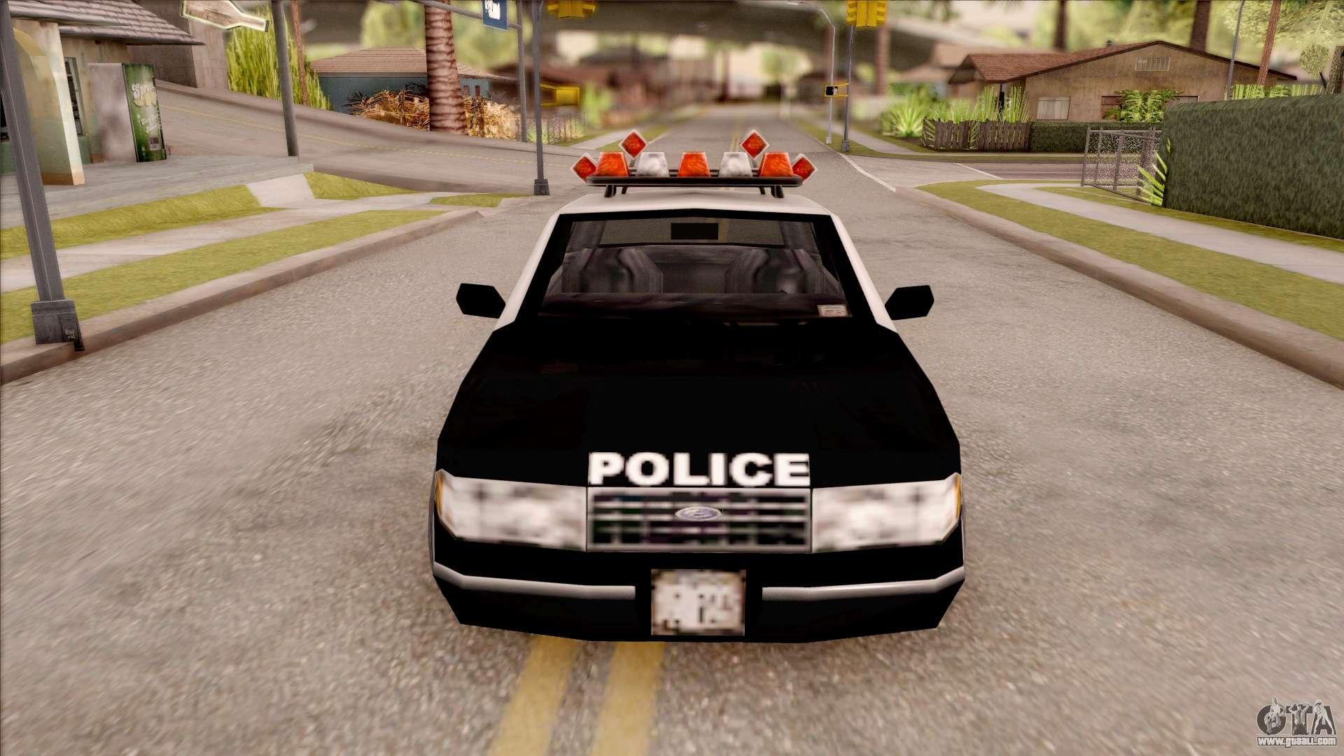 Police Car from GTA 3 for GTA San Andreas Gta San Andreas Cool Mods