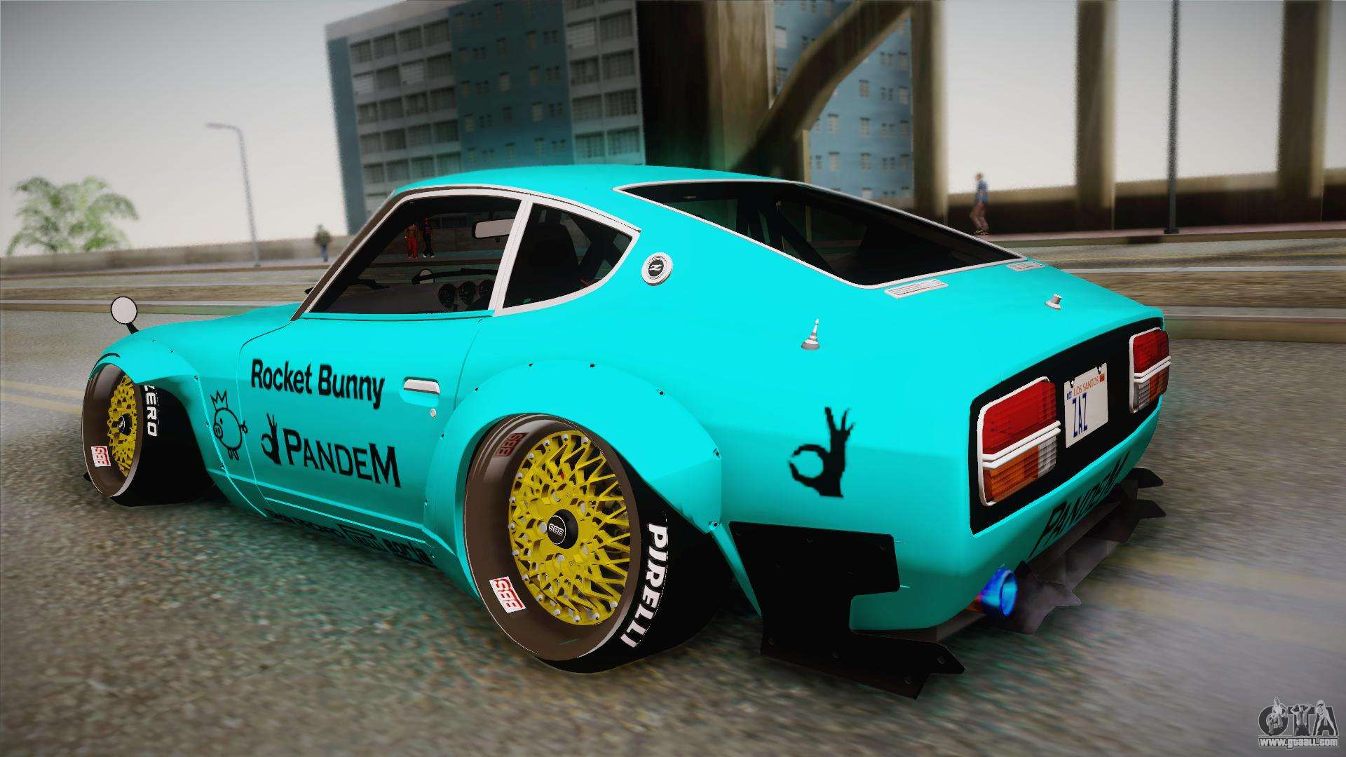 Nissan Fairlady 240z 432 Rocket Bunny 1969 For Gta San Andreas