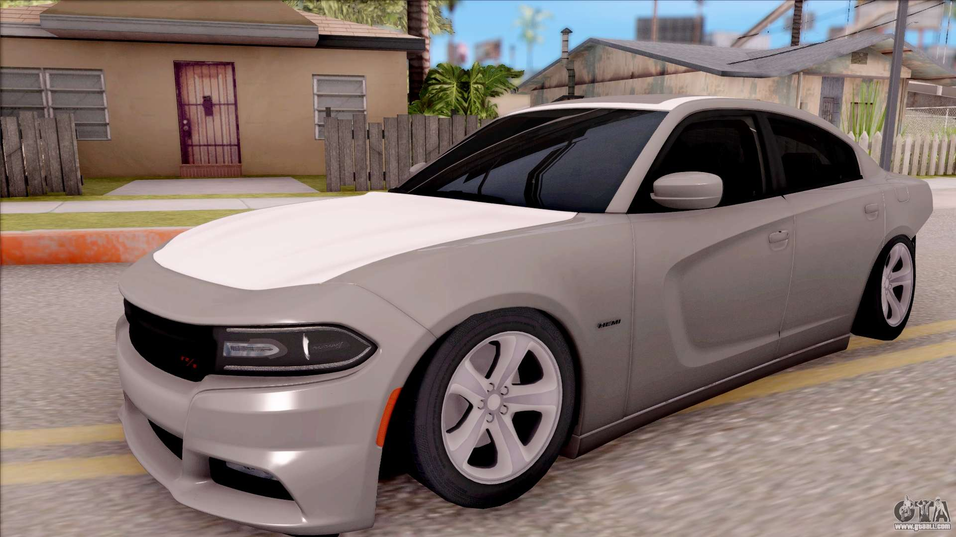 dodge charger rt 2016 for gta san andreas. Black Bedroom Furniture Sets. Home Design Ideas
