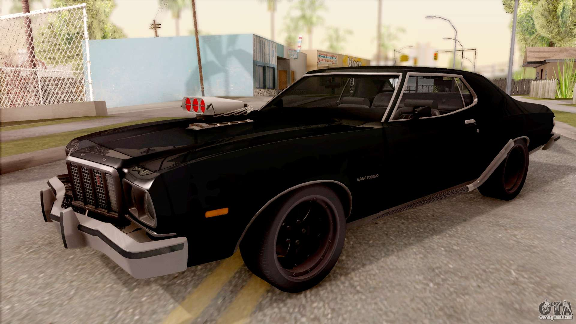 ford gran torino 1975 for gta san andreas. Black Bedroom Furniture Sets. Home Design Ideas