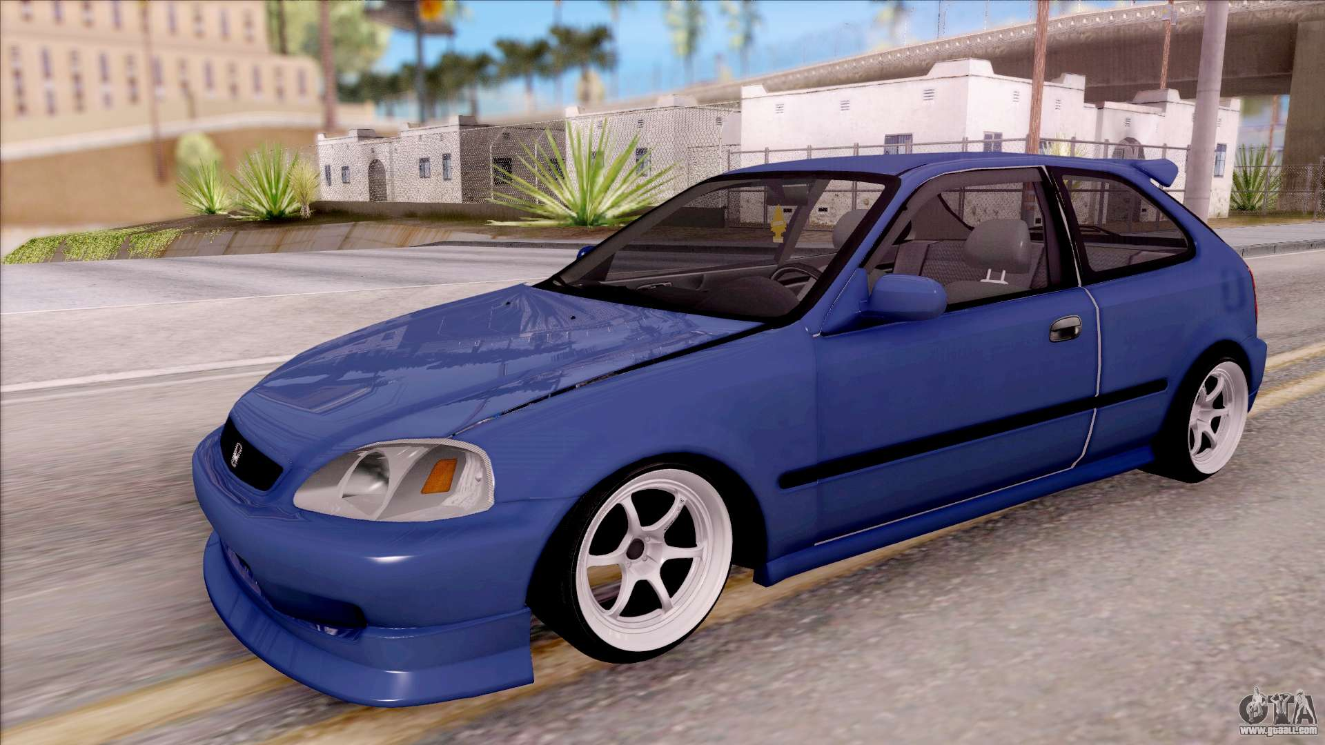 honda ek9 civic stance for gta san andreas. Black Bedroom Furniture Sets. Home Design Ideas