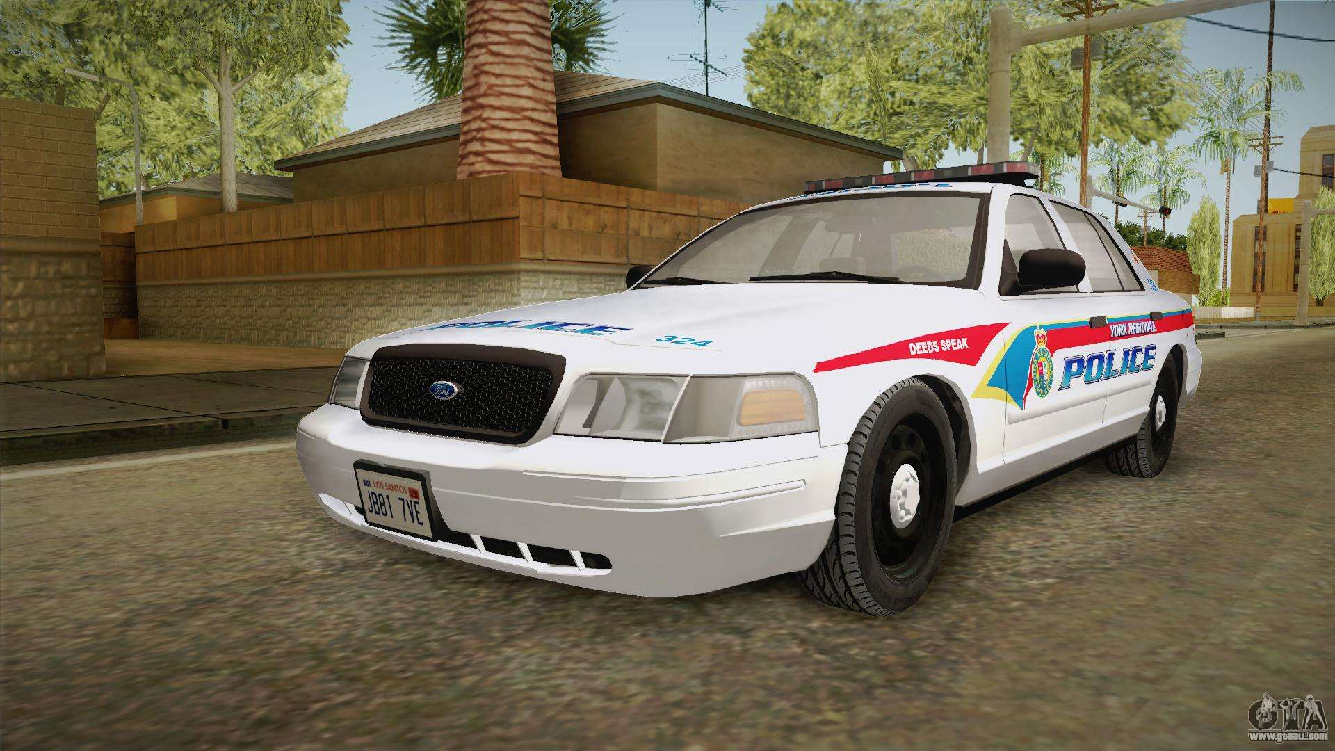 ford crown victoria pi yrp for gta san andreas. Black Bedroom Furniture Sets. Home Design Ideas