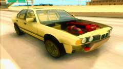 BMW M5 E34 yellow for GTA San Andreas