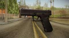 Glock 18 3 Dot Sight Ultraviolet Indigo for GTA San Andreas