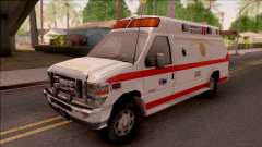 Ford E-350 SFFD San Francisco Ambulance for GTA San Andreas