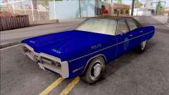 Plymouth Fury 1972 Housing Authority Police