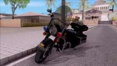Harley Davidson FLH 1200 Police 1988 for GTA San Andreas