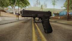 Glock 17 3 Dot Sight Pink Magenta for GTA San Andreas