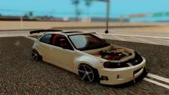 Honda Civic 98 Hatch Rocket Bunny for GTA San Andreas
