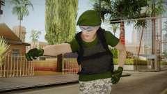 Gunrunning Female Skin v1 for GTA San Andreas